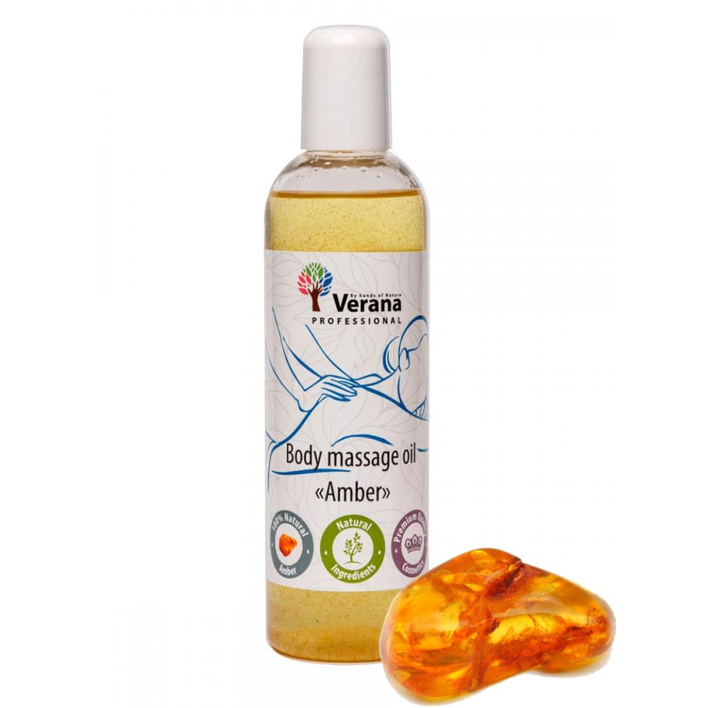 Массажное масло для тела «ЯНТАРЬ»