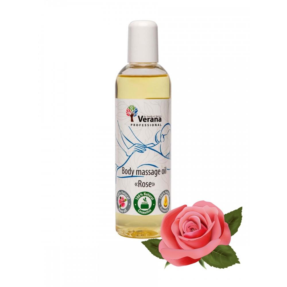 Массажное масло для тела «РОЗА»