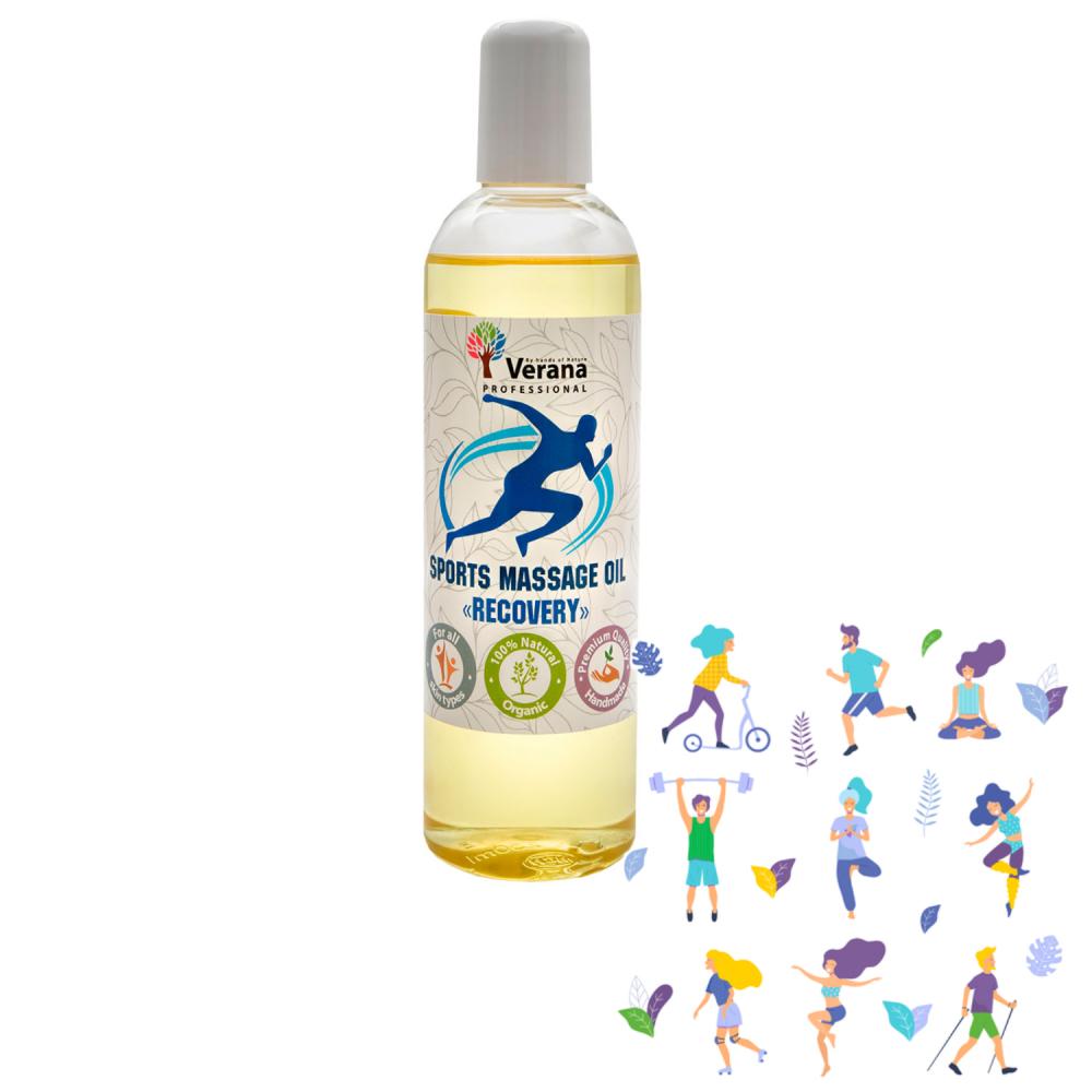 Спортивное массажное масло для тела «ВОССТАНОВЛЕНИЕ»