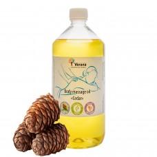 Массажное масло для тела «КЕДР»